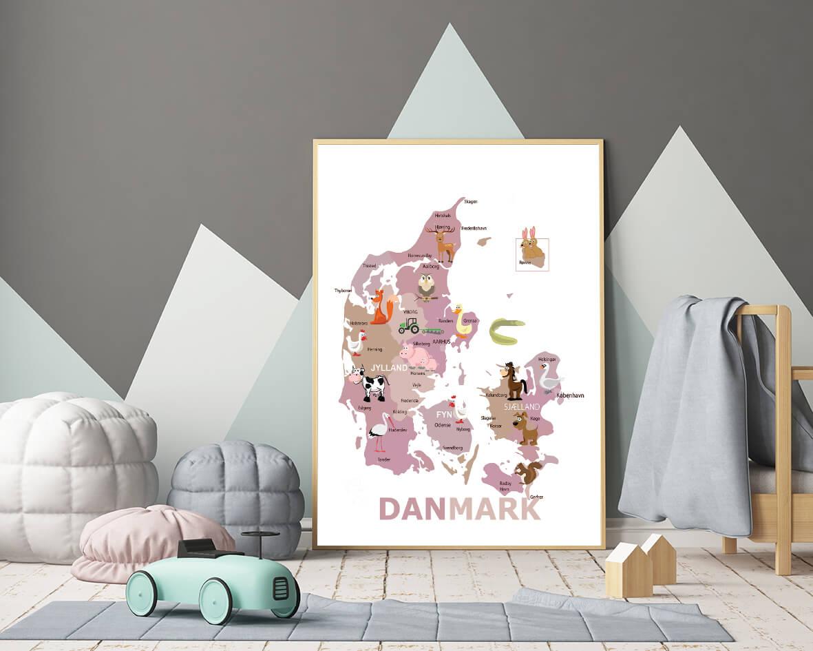 Danmarkskort-boern-pige-2