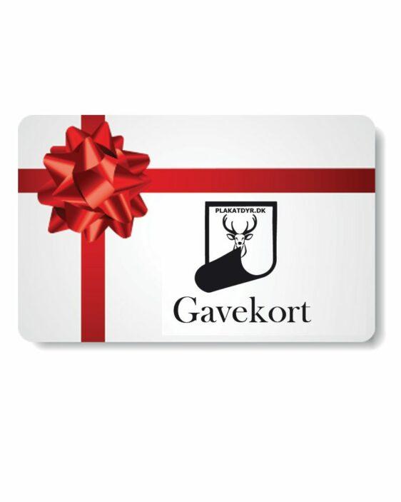 Gavekort-plakatdyr