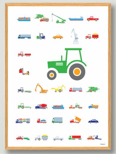 traktor-boernevaerelset
