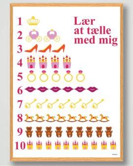 prinsesse-plakat-lær-at-tælle