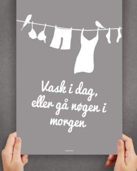 vaskidag-vaskeplakat-badeværelseplakat