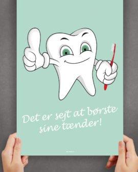børstetænder-tandbørste-badeværelset