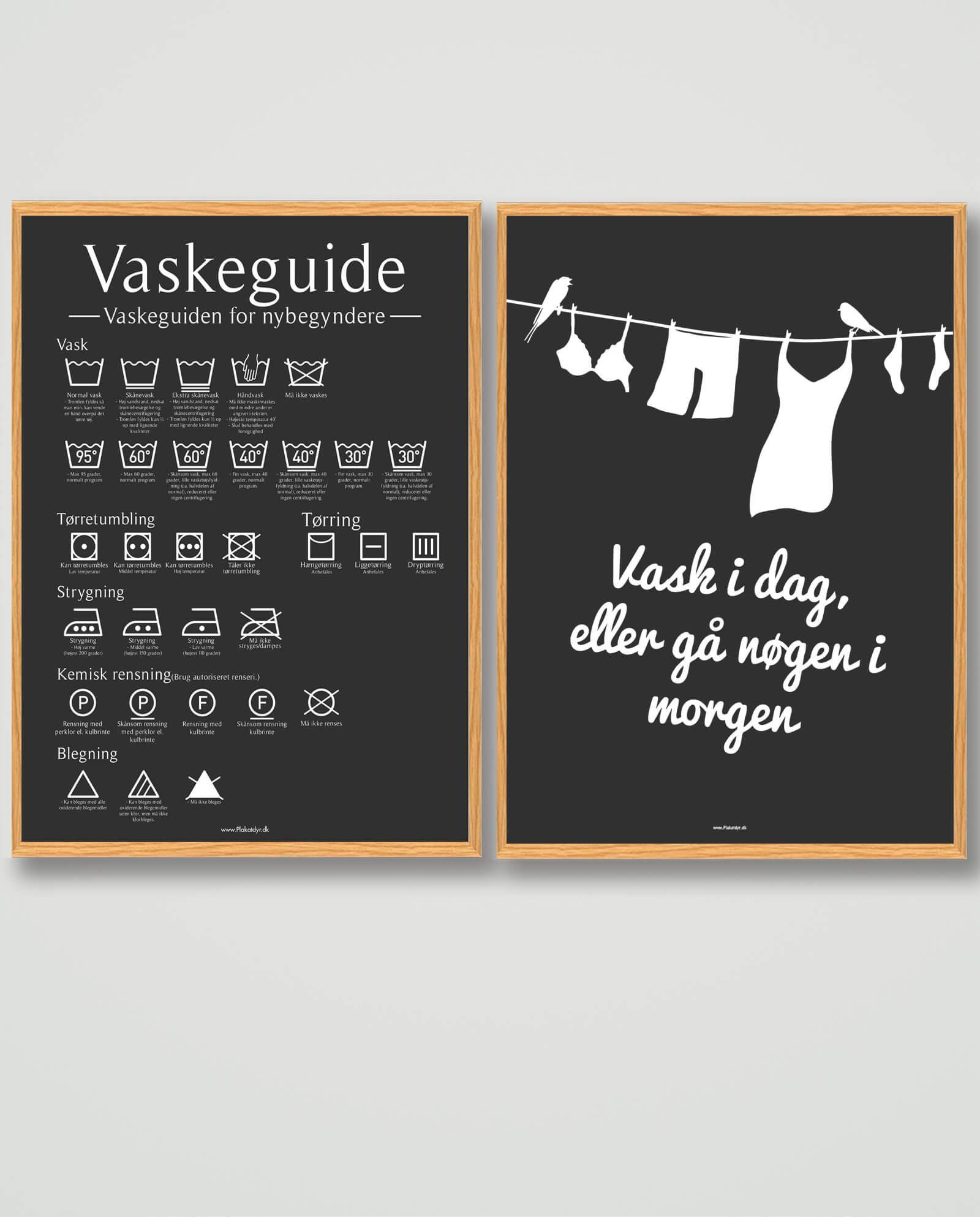 Vaskeguide-sort-bryggersplakat
