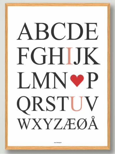 ABC i love you gaveide