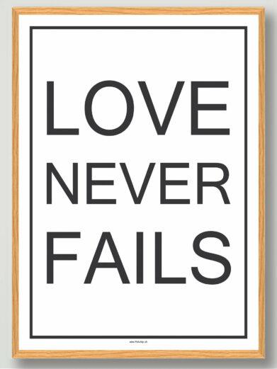 Love never fails-hvid-gaveide