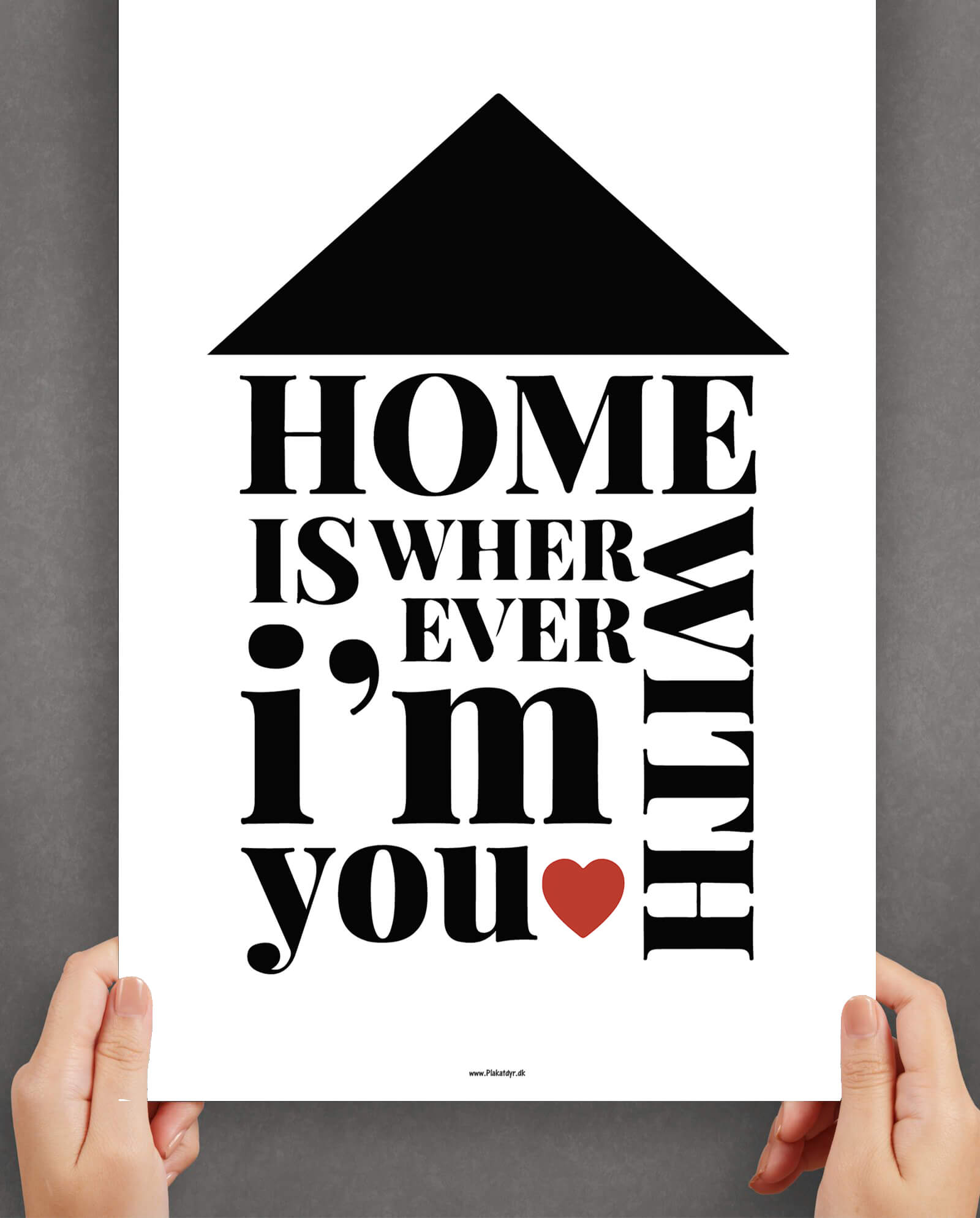 Home-is-wherever-im-with-you-plakat