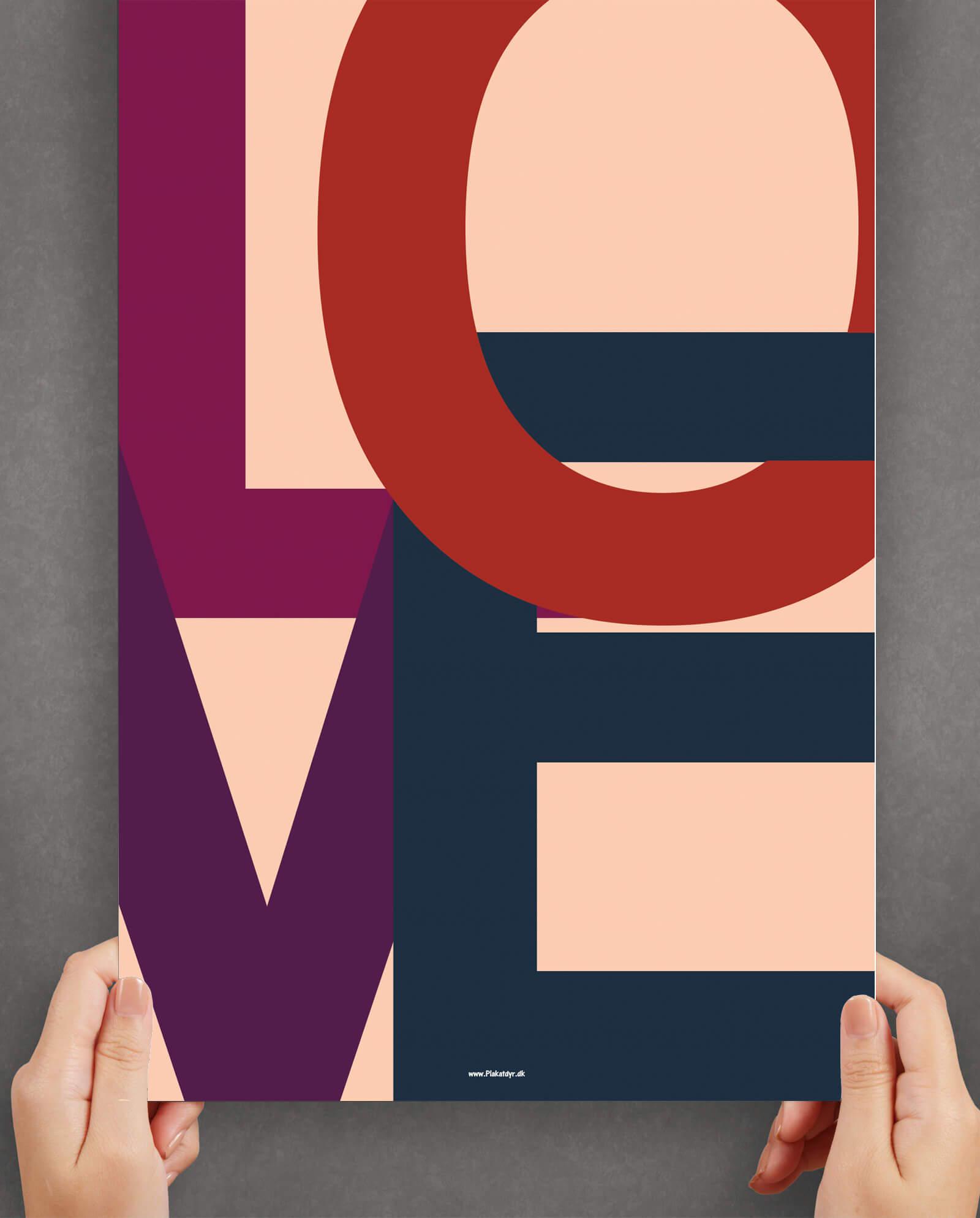 Love-farve