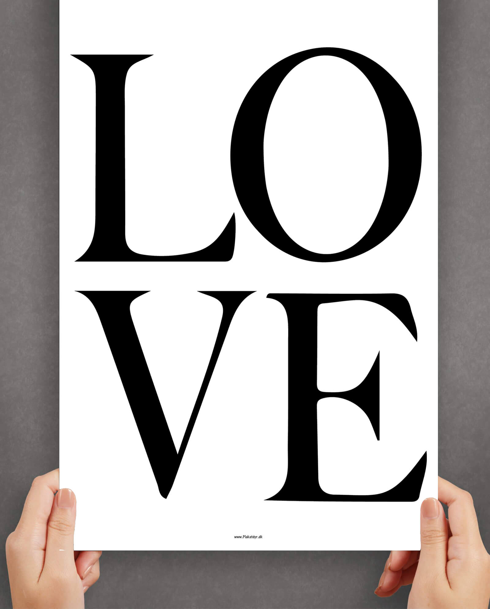 Love-sort-hvid