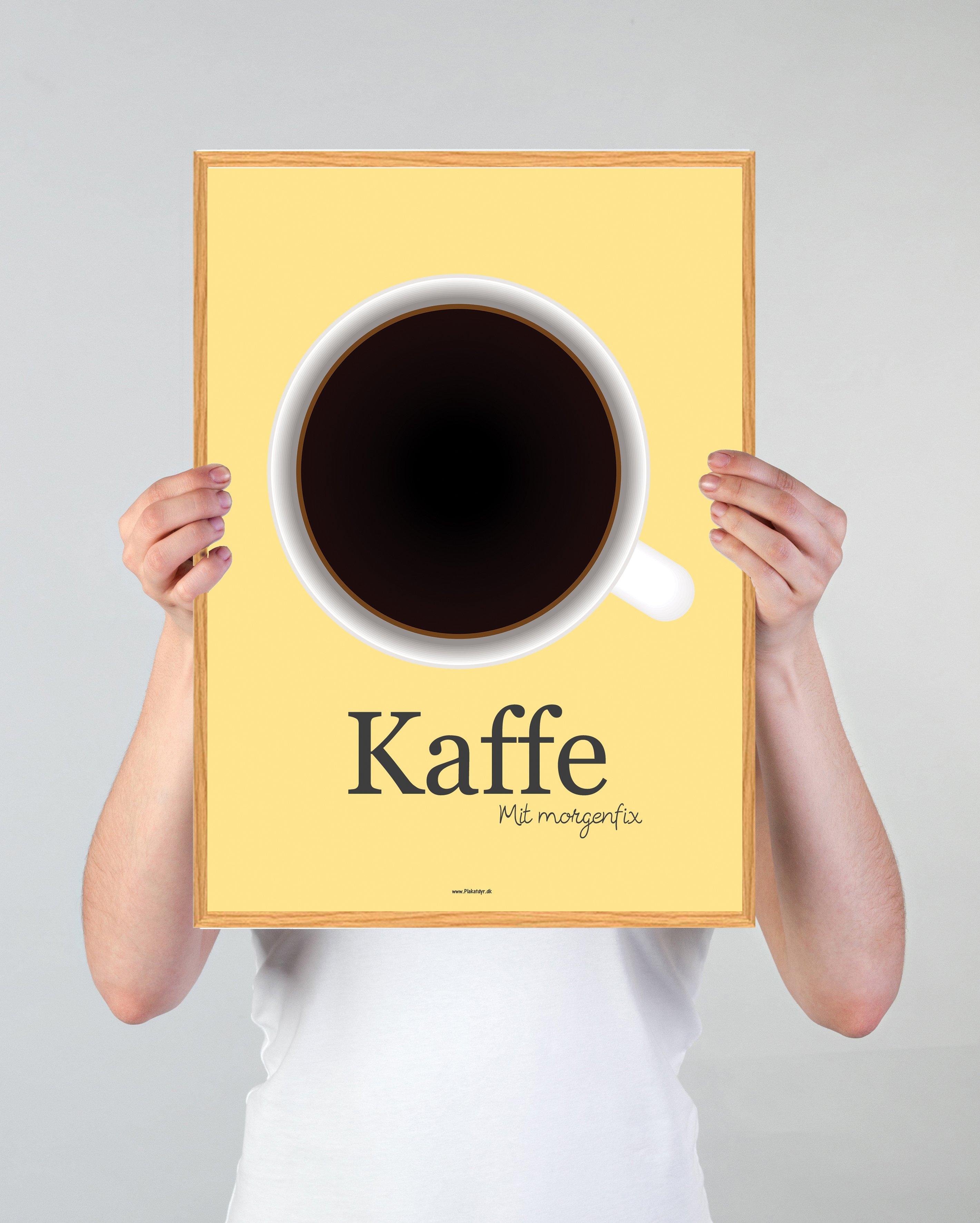 kaffe-gul-plakat
