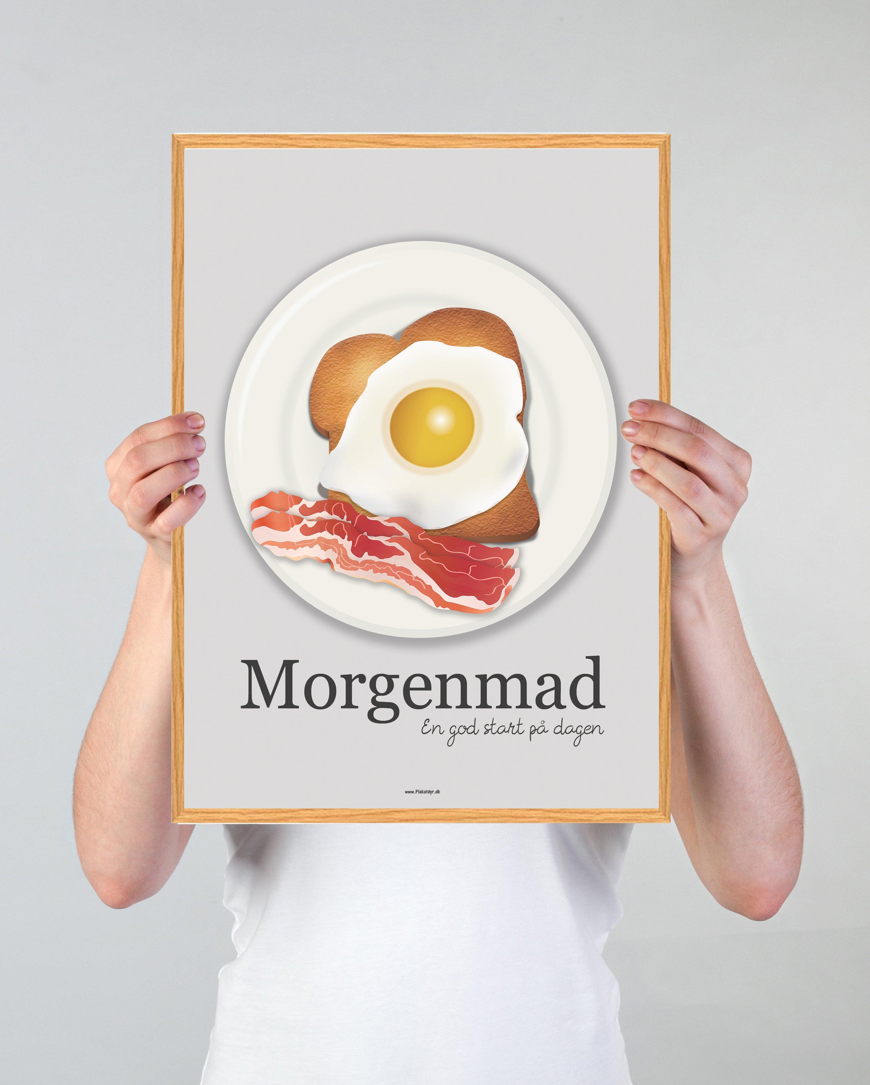 morgenmad-koekken-plakat