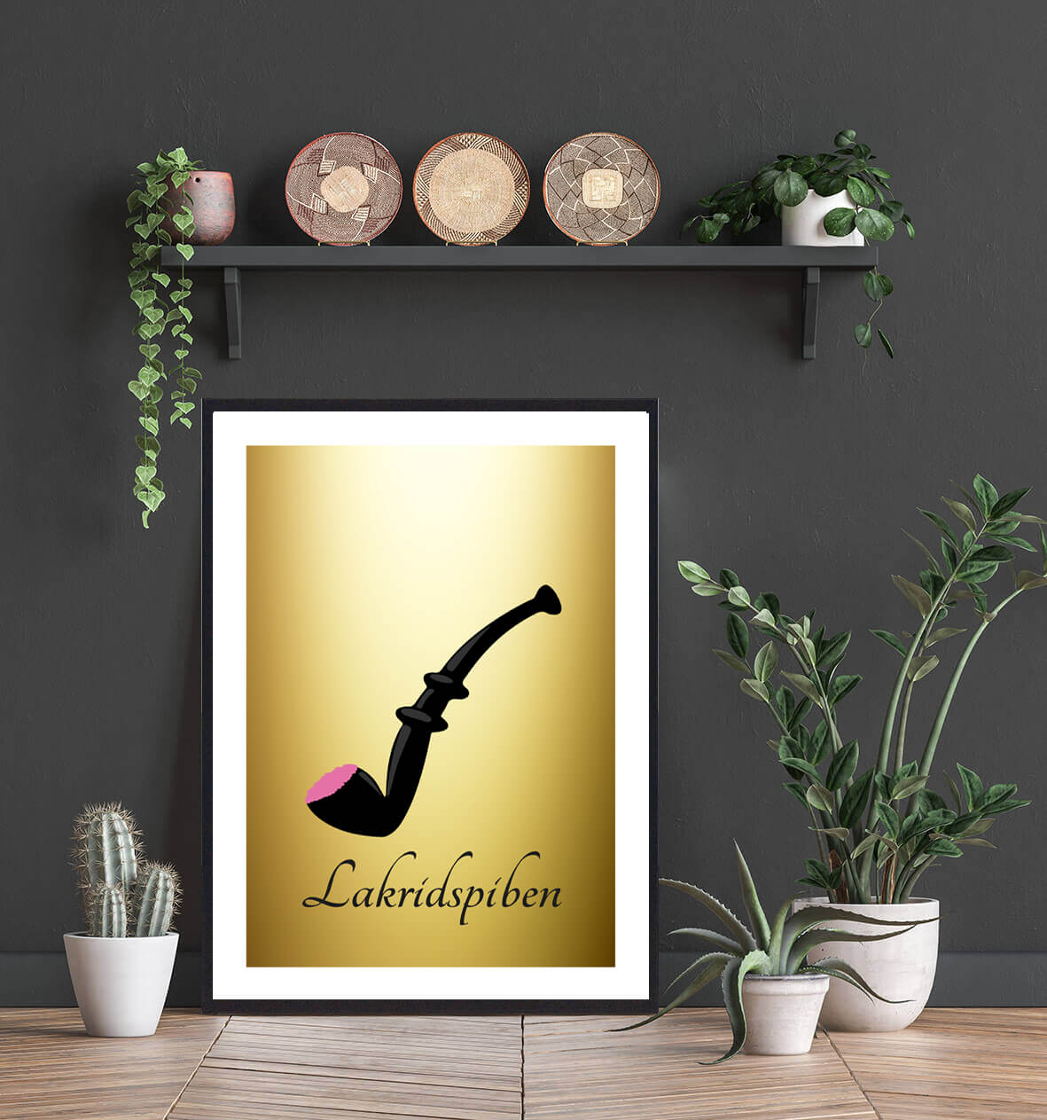 Lakridspibe-plakat-guld-1