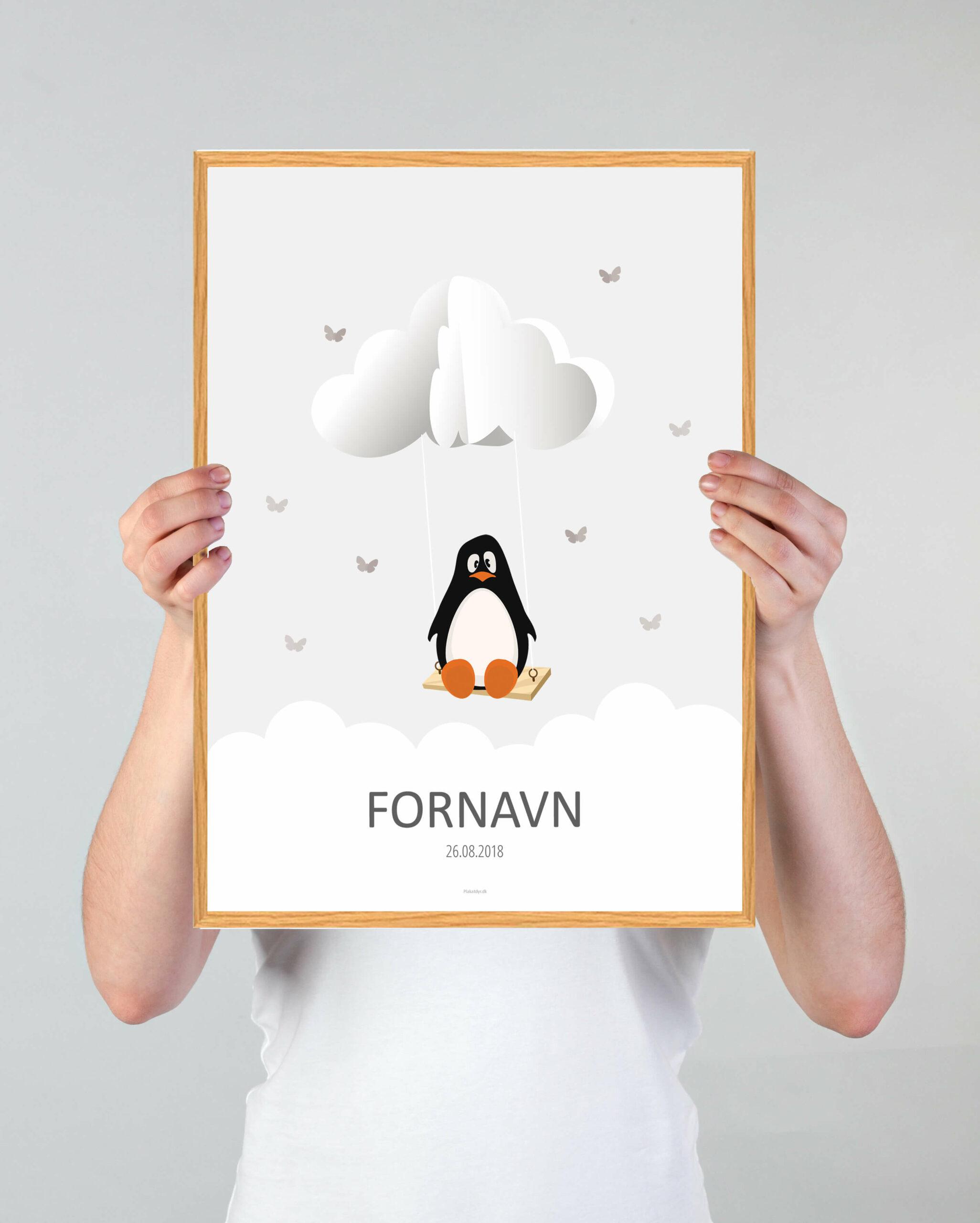 navnetavle-pingvin-graa-2