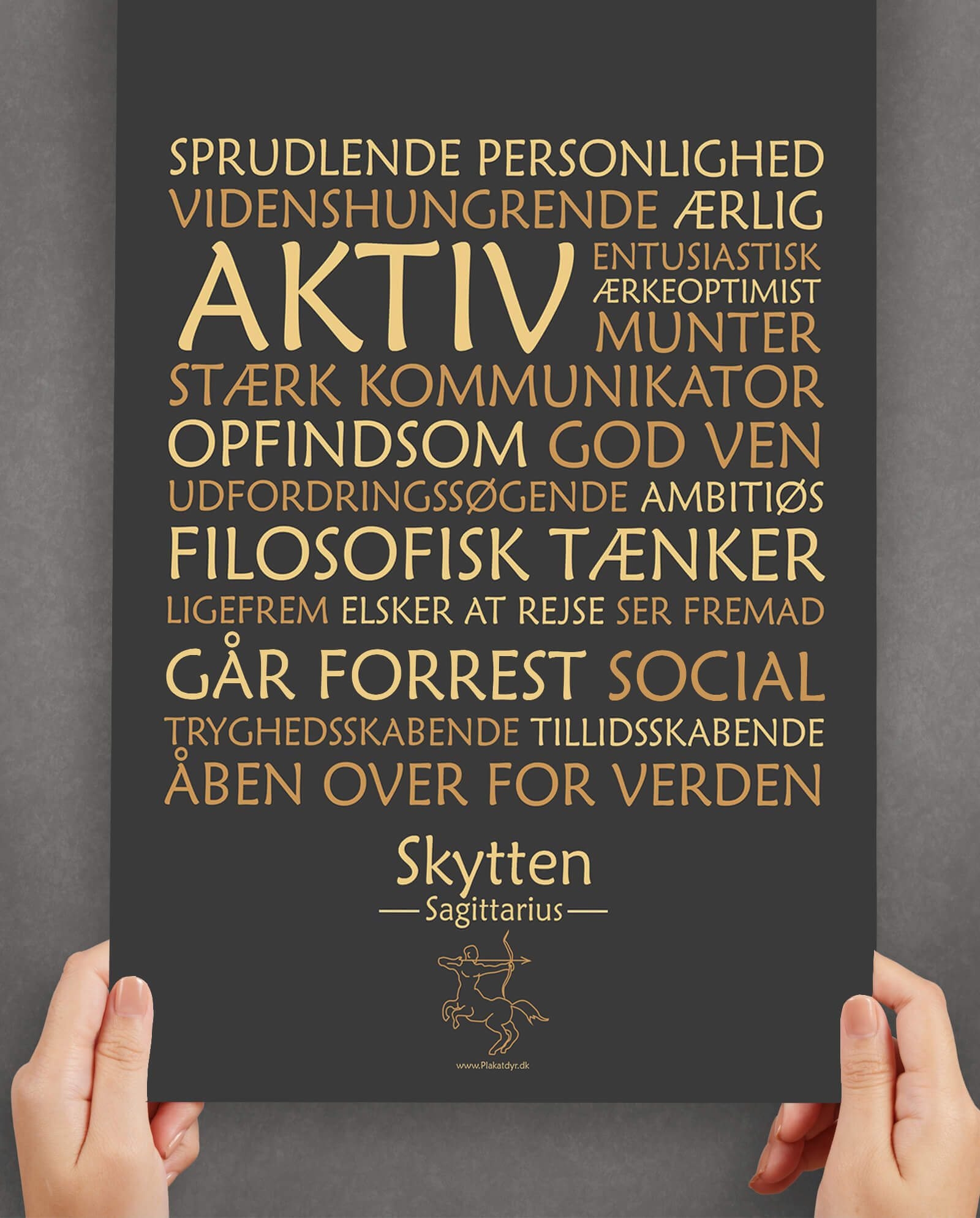 personligt-horoskop-plakat-skytten