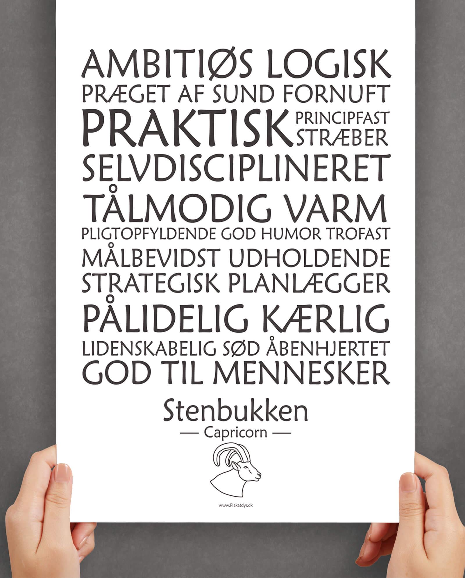 personligt-horoskop-plakat-stenbukken