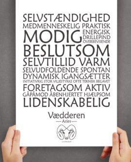 personligt-horoskop-plakat-vædderen