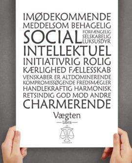 personligt-horoskop-plakat-vægten