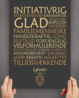 plakat-løven