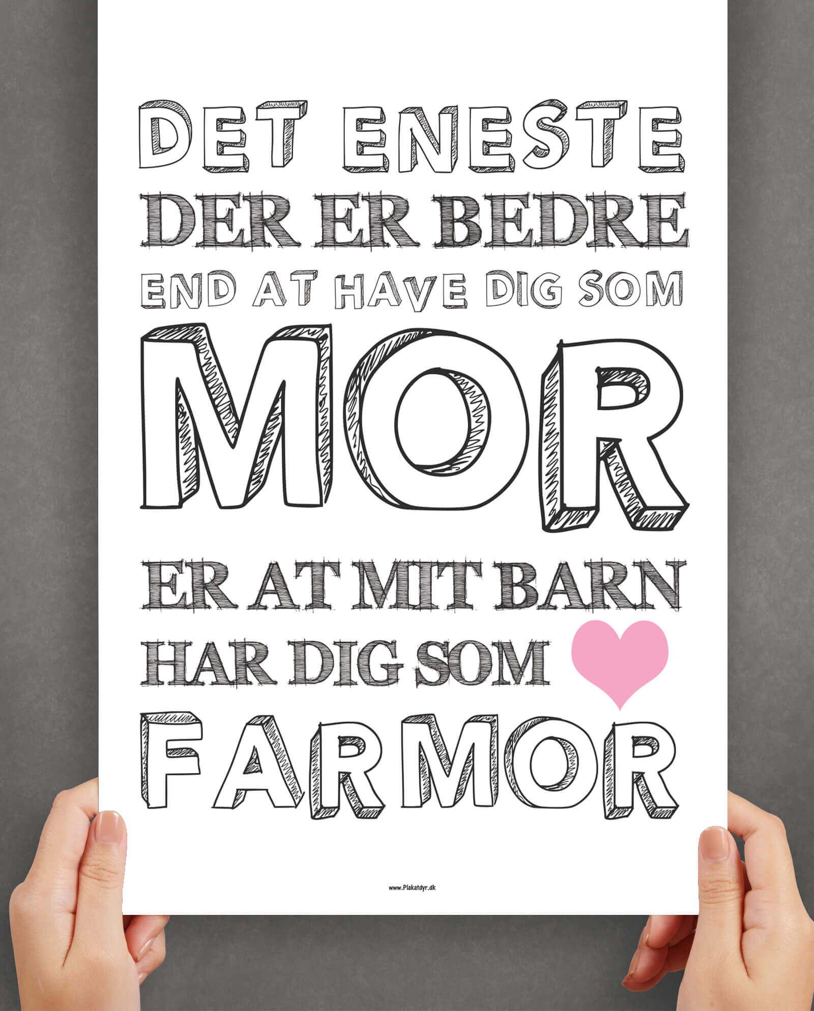 bedste-farmor-personlig-plakat