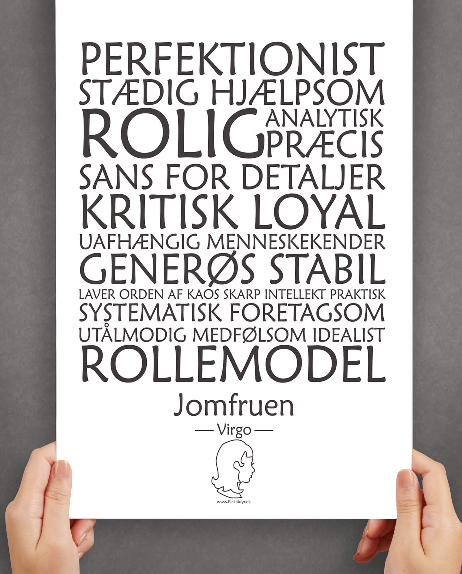 personligt-horoskop-plakat-jomfreun