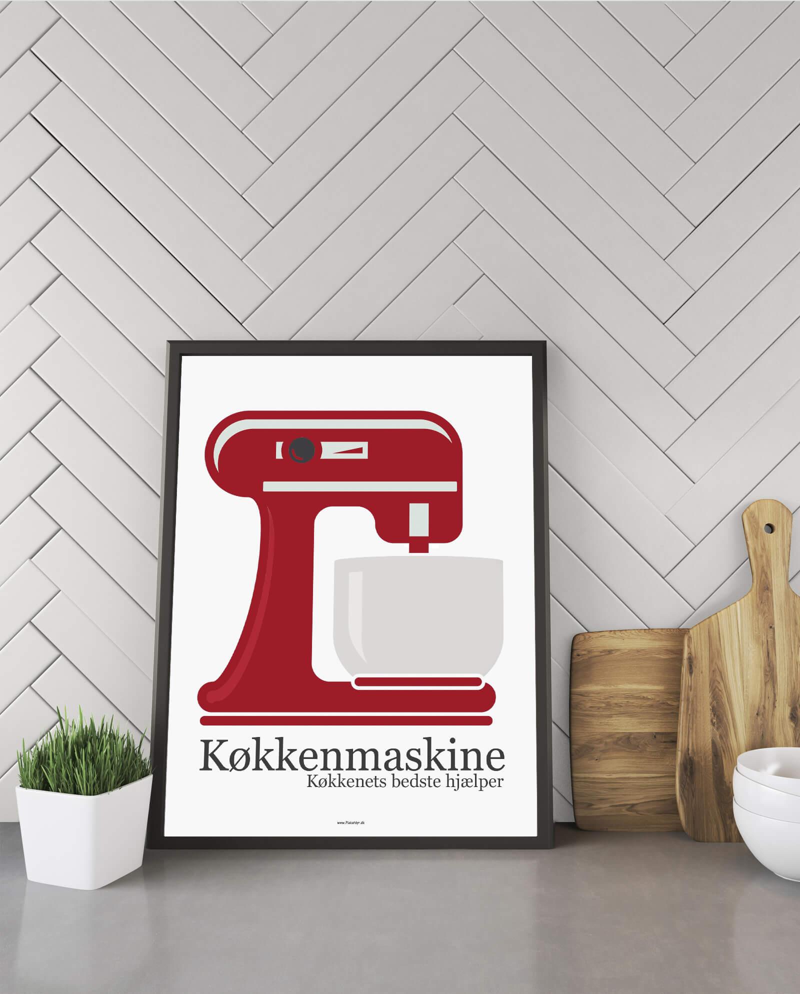 køkkenmaskine-hvid-gave