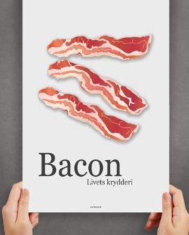 bacon-livets-krydderi-plakat
