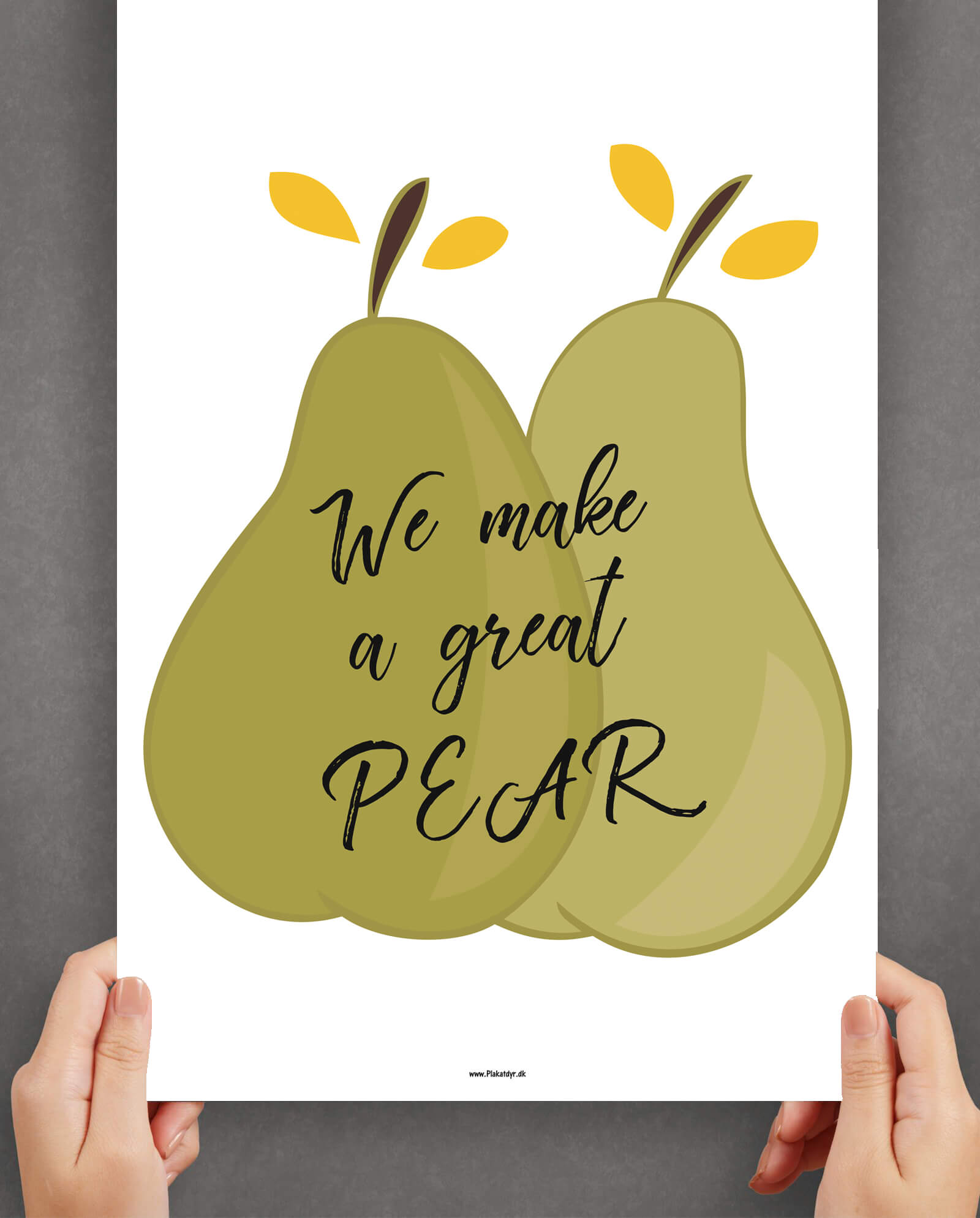 we-make-a-great-pear-grøn