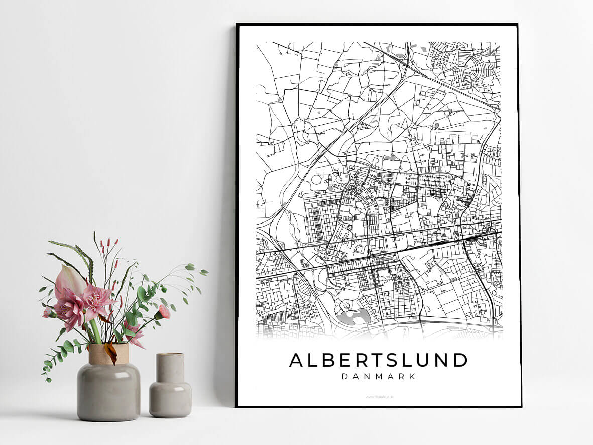 Albertslund-hvid-byplakat