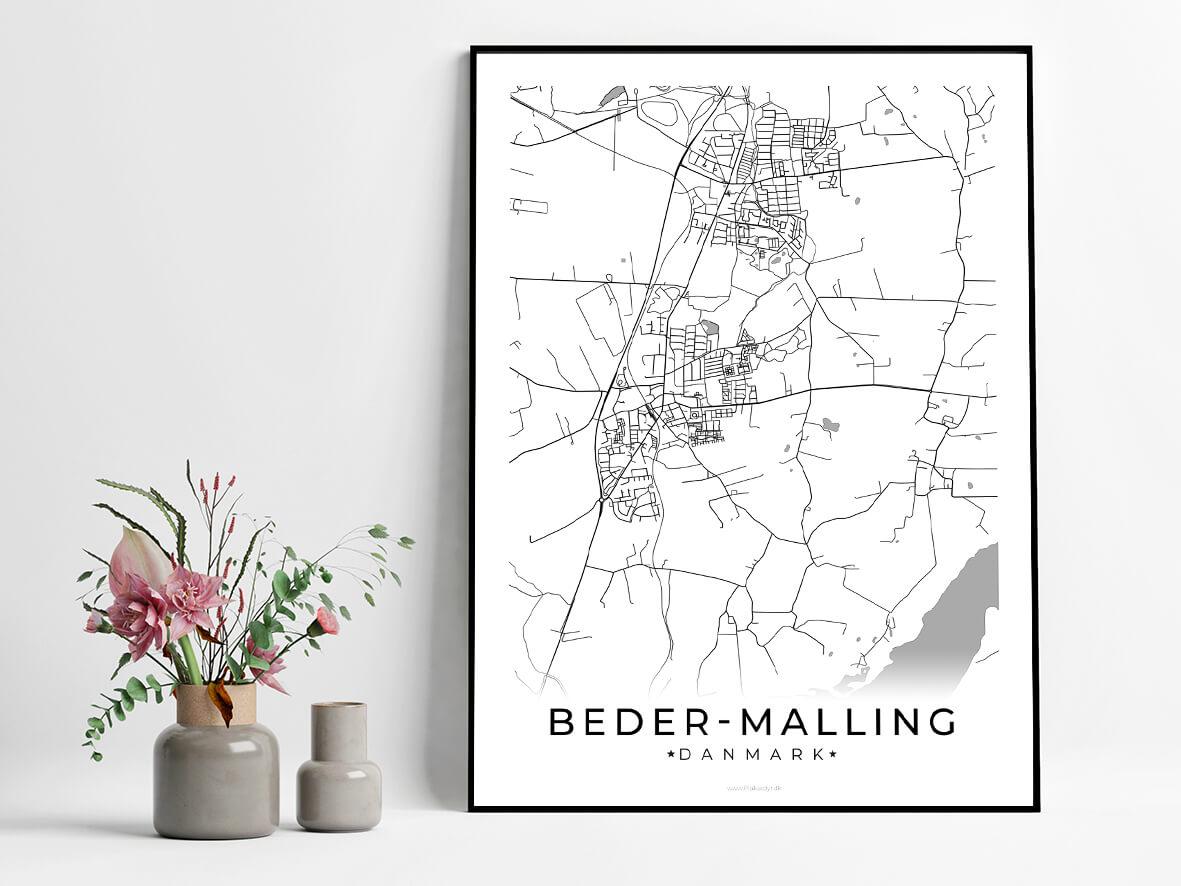 Beder-Malling-hvid-byplakat