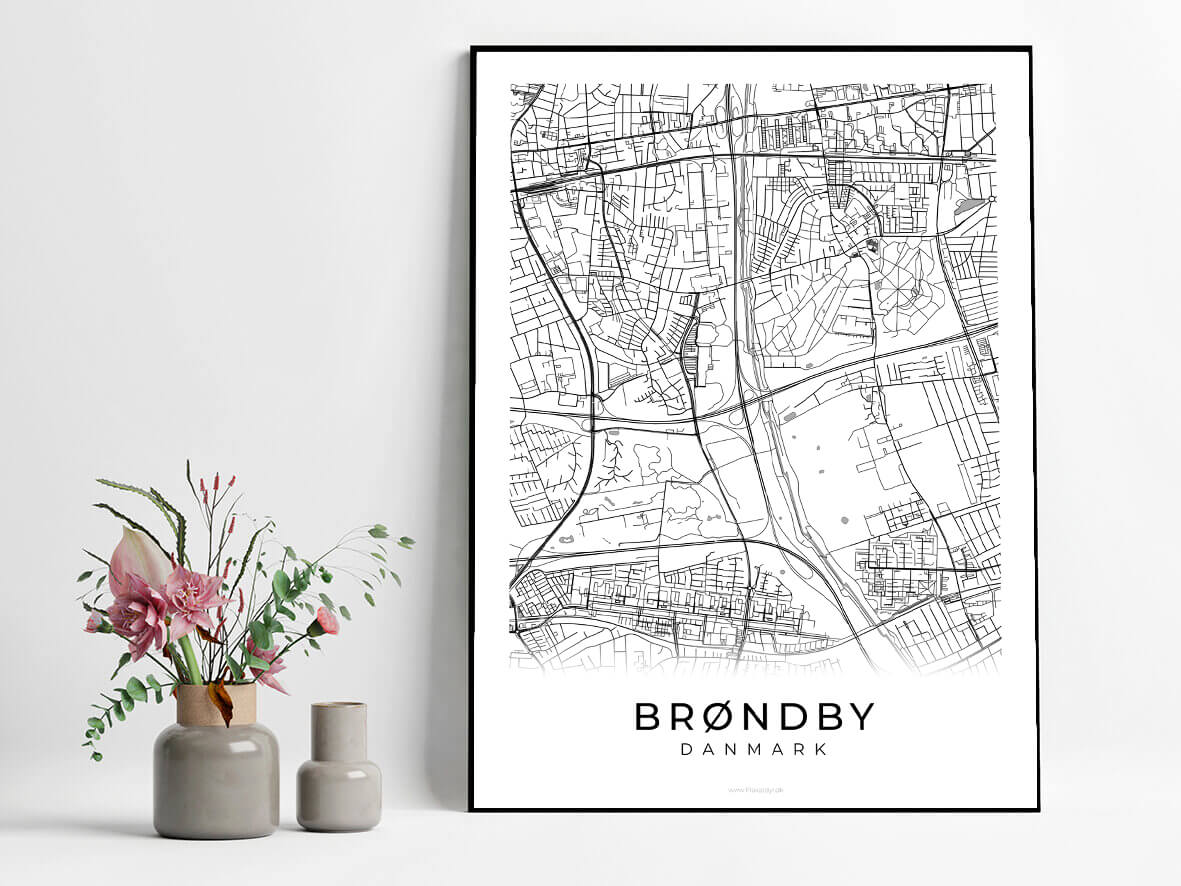 Broendby-hvid-byplakat