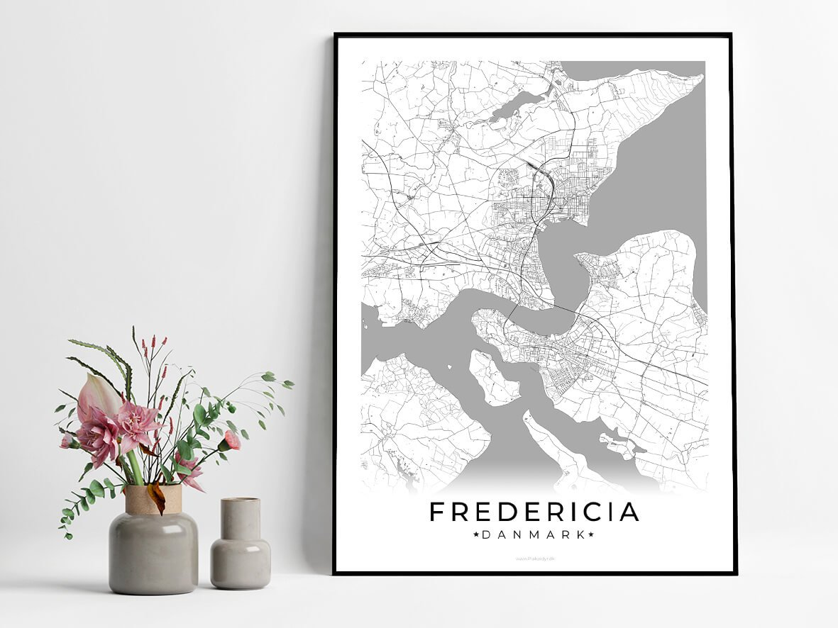 Fredericia-hvid-byplakat