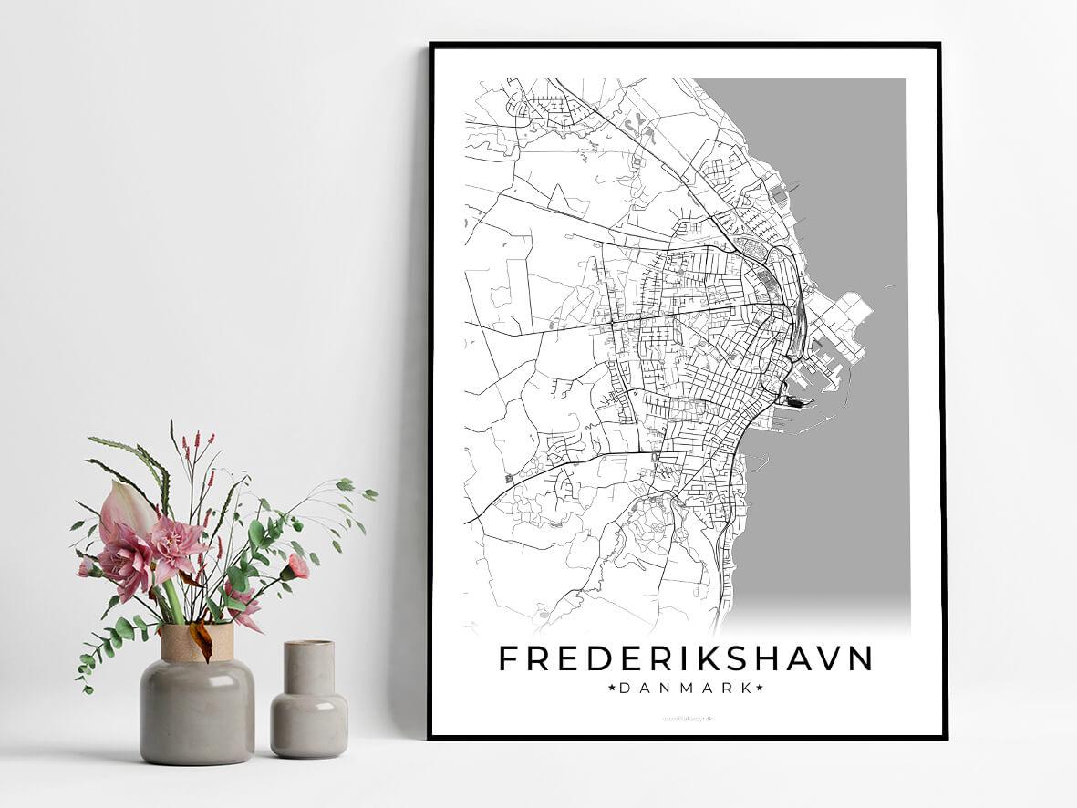 Frederikshavn-hvid-byplakat