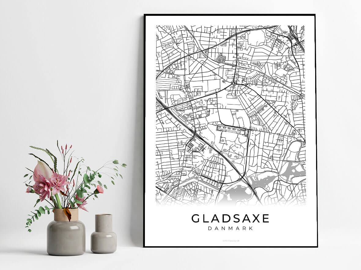 Gladsaxe-hvid-byplakat