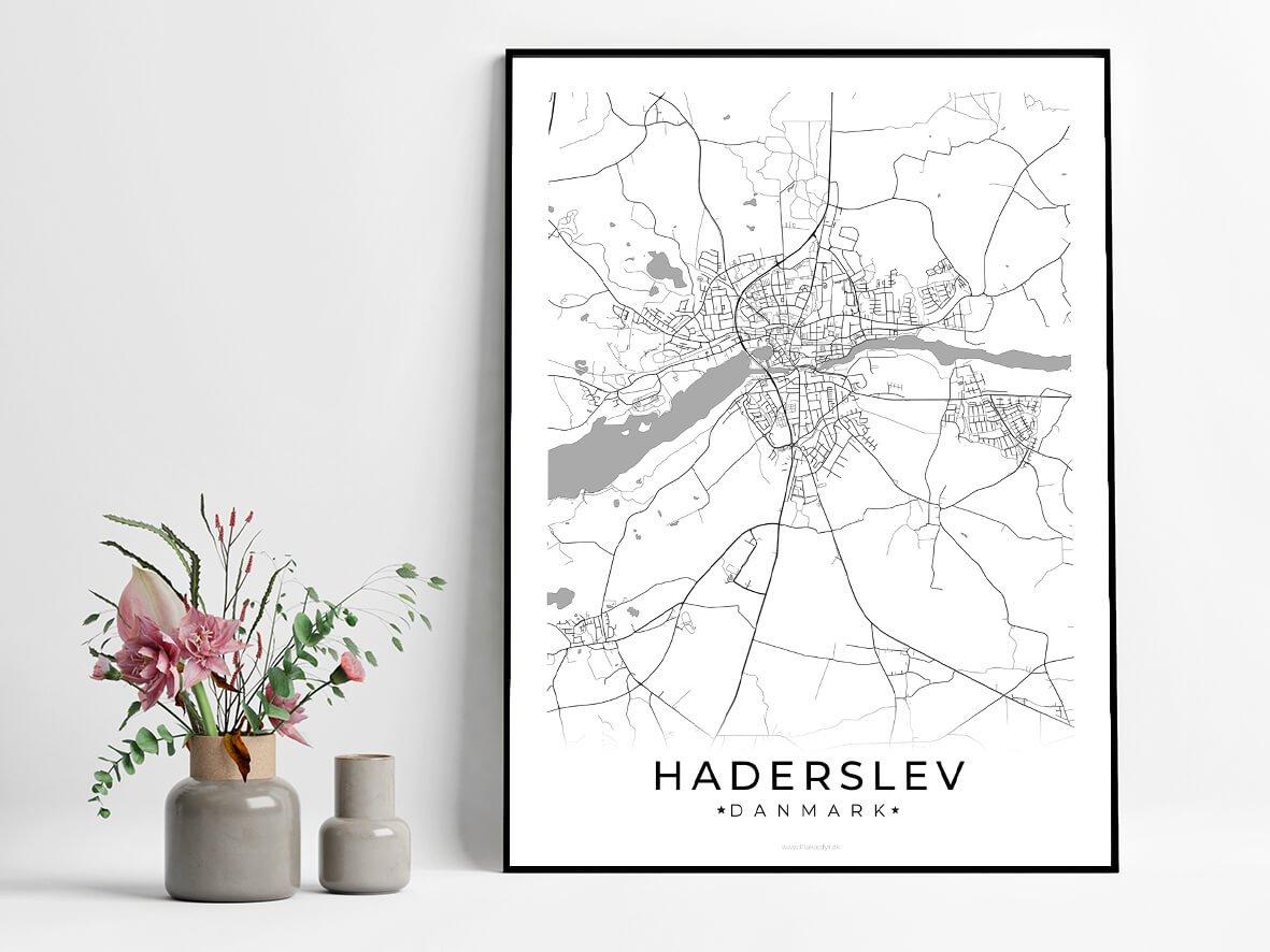 Haderslev-hvid-byplakat