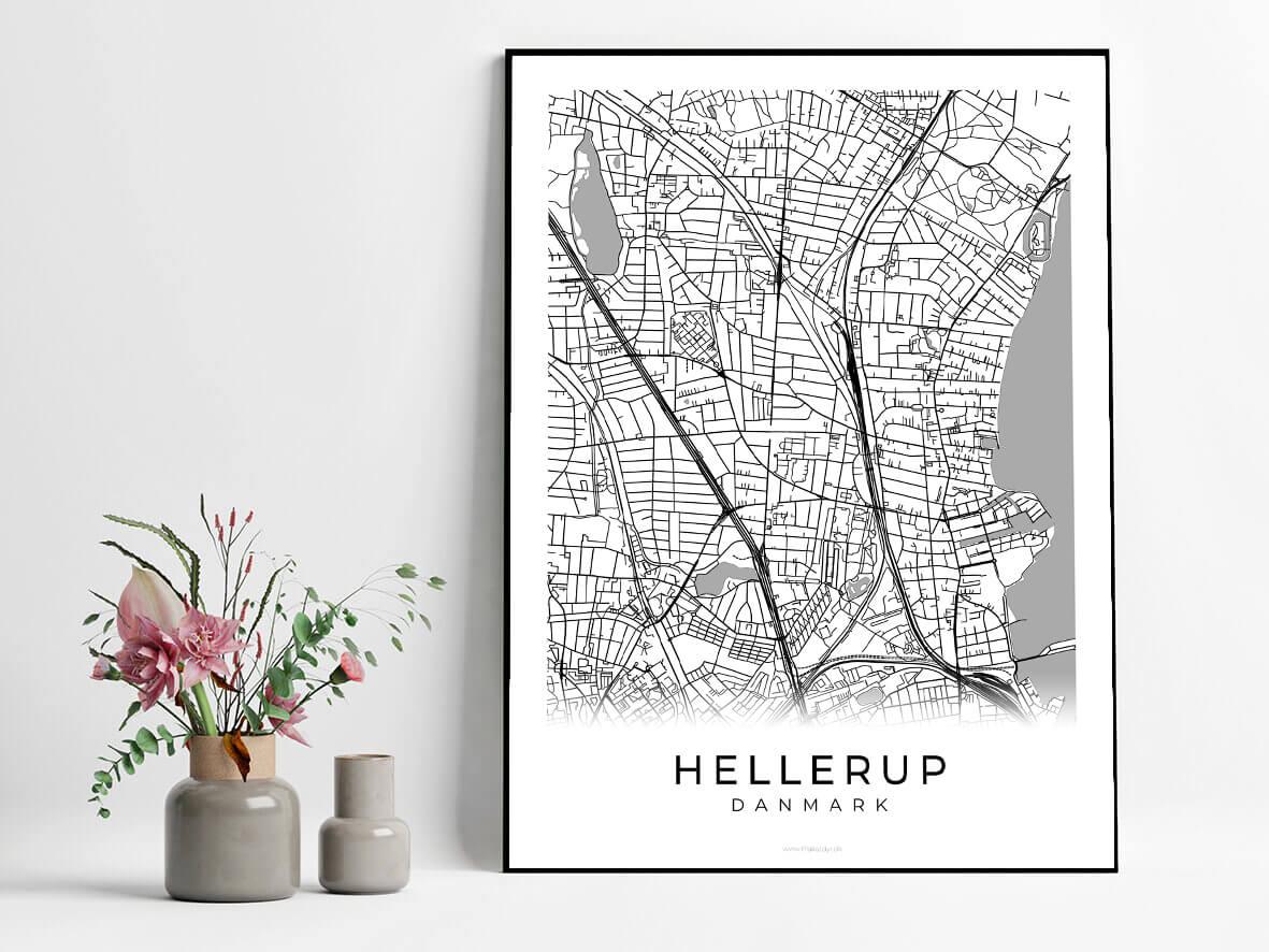 Hellerup-hvid-byplakat
