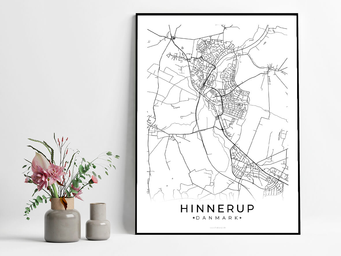 Hinnerup-hvid-byplakat