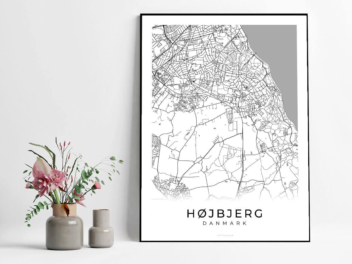 Hoejbjerg-hvid-byplakat