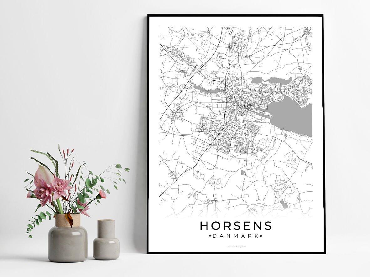 Horsens-hvid-byplakat