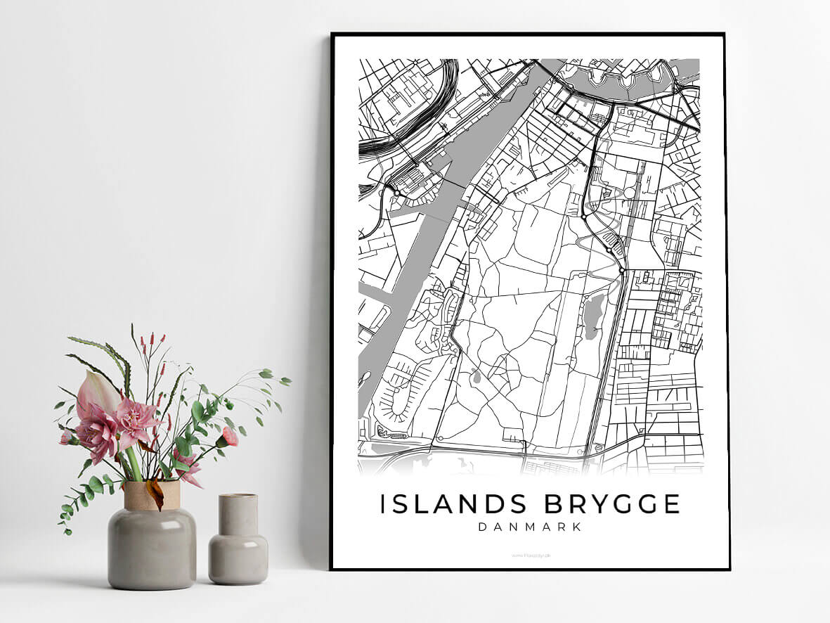 Islands-brygge-hvid-byplakat