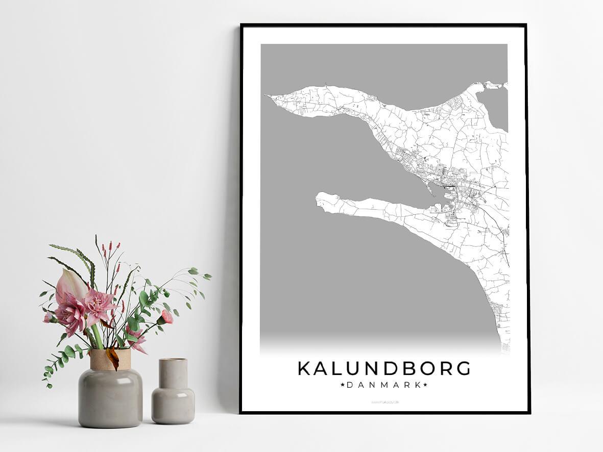 Kalundborg-hvid-byplakat