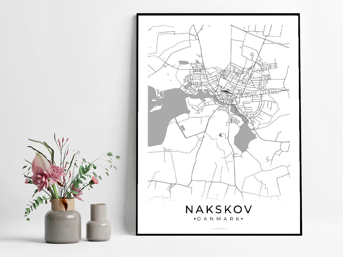 Nakskov-hvid-byplakat
