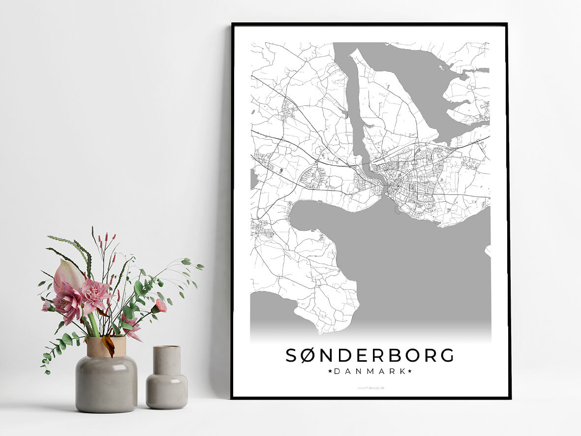 Soenderborg-hvid-byplakat
