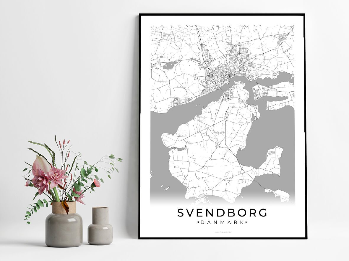 Svendborg-hvid-byplakat
