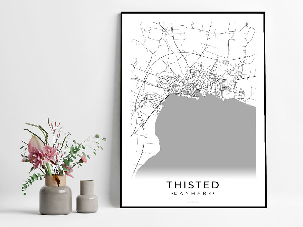 Thisted-hvid-byplakat