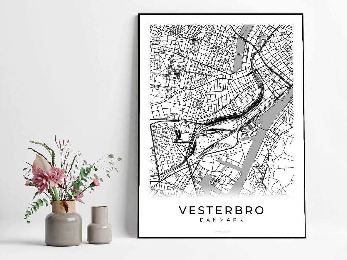 Vesterbro-hvid-byplakat