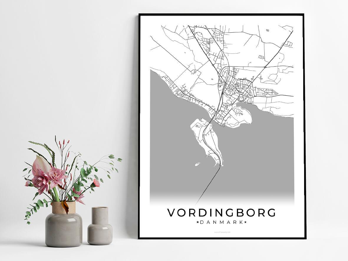 Vordingborg-hvid-byplakat