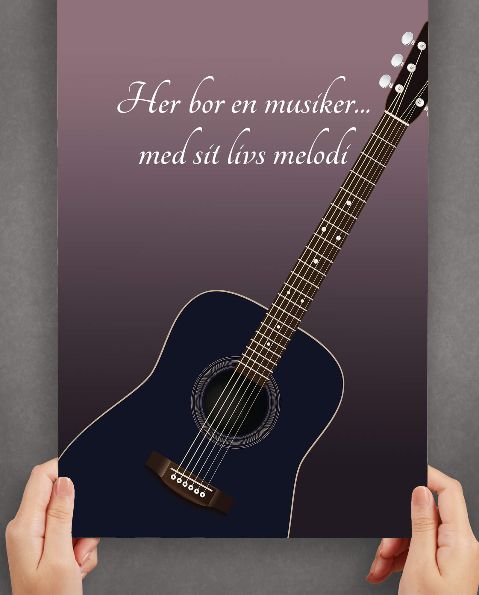 musiker-profession-plakat