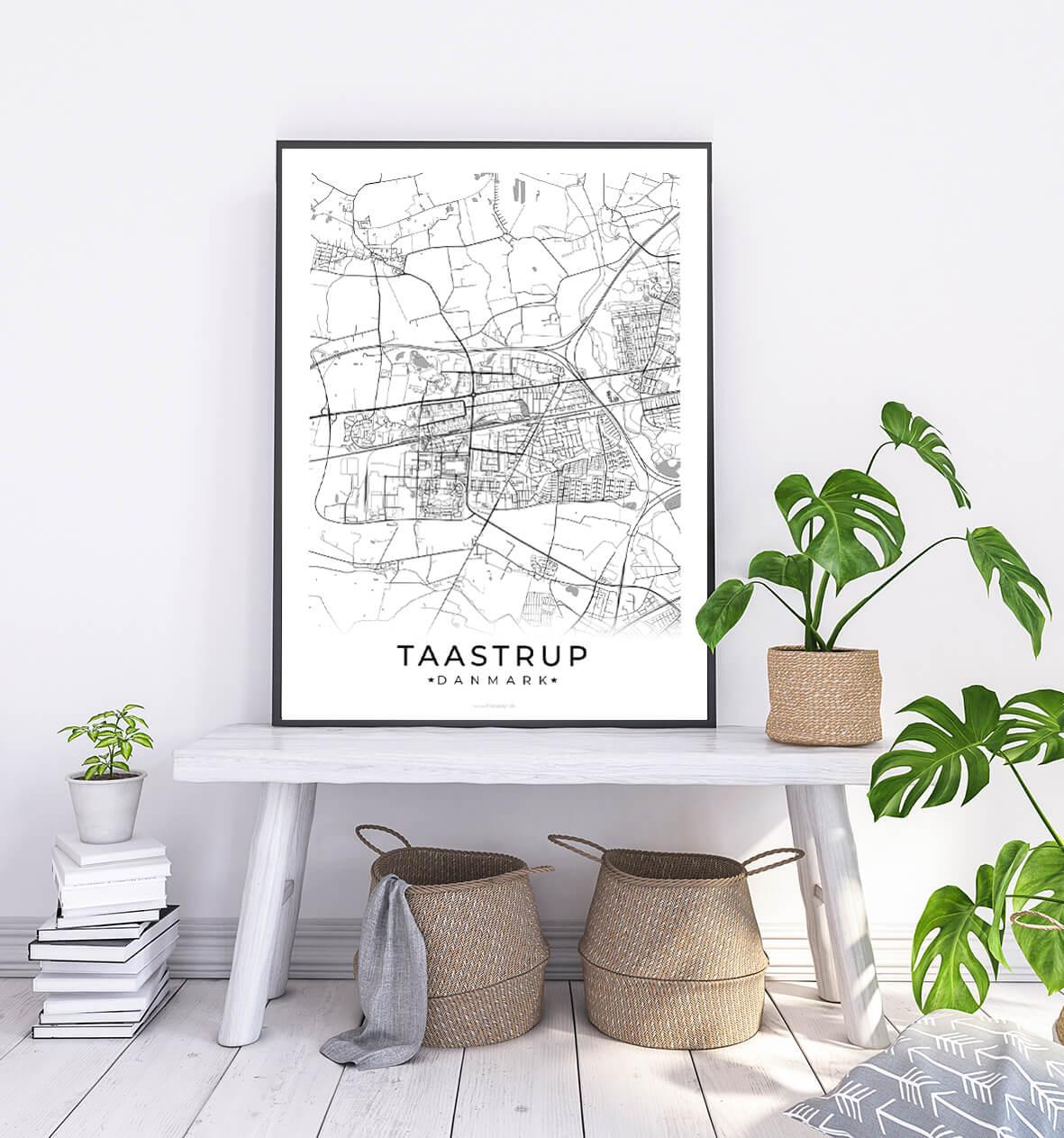 Taastrup-hvid-byplakat-1