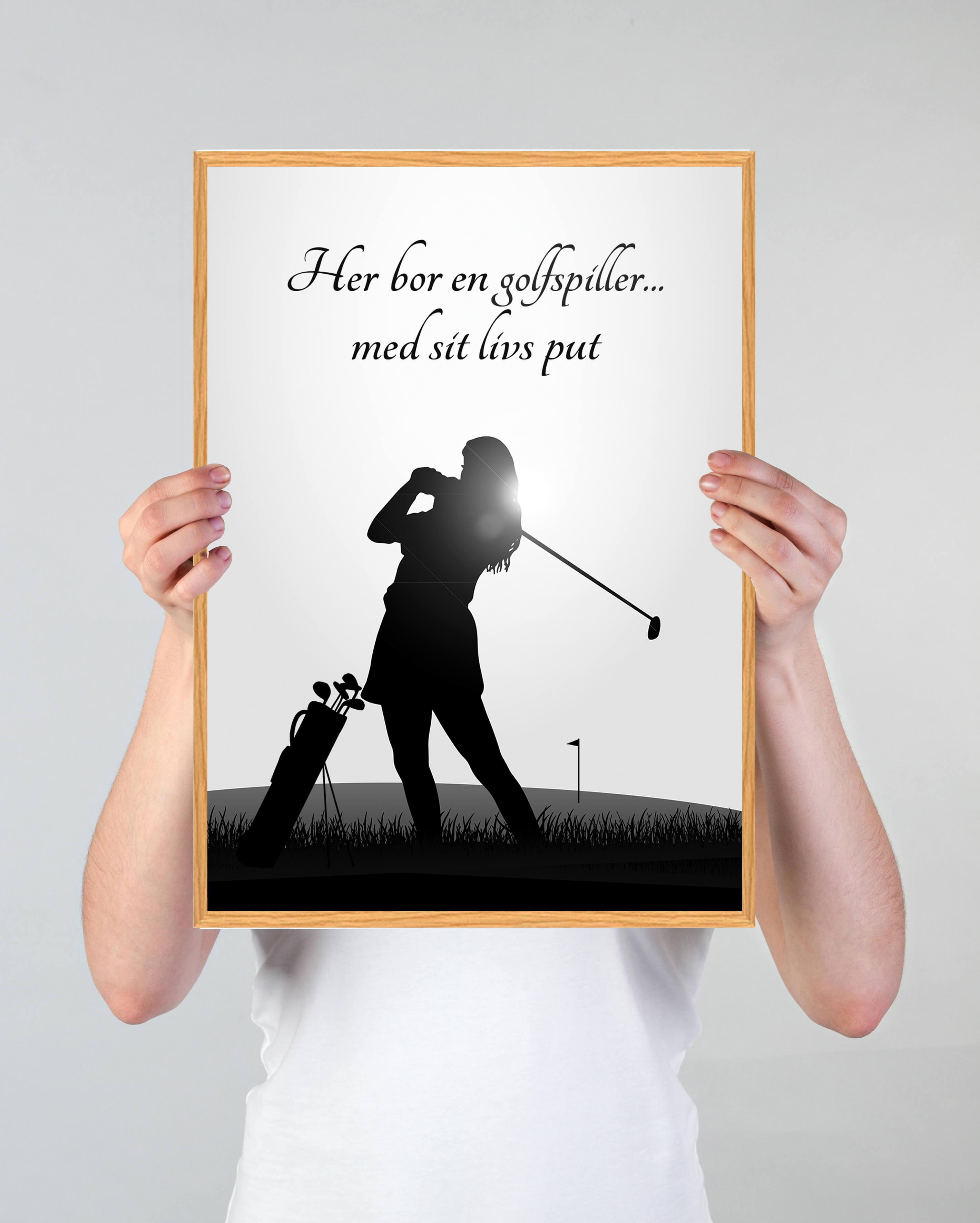 golf-silhuet-plakat-3