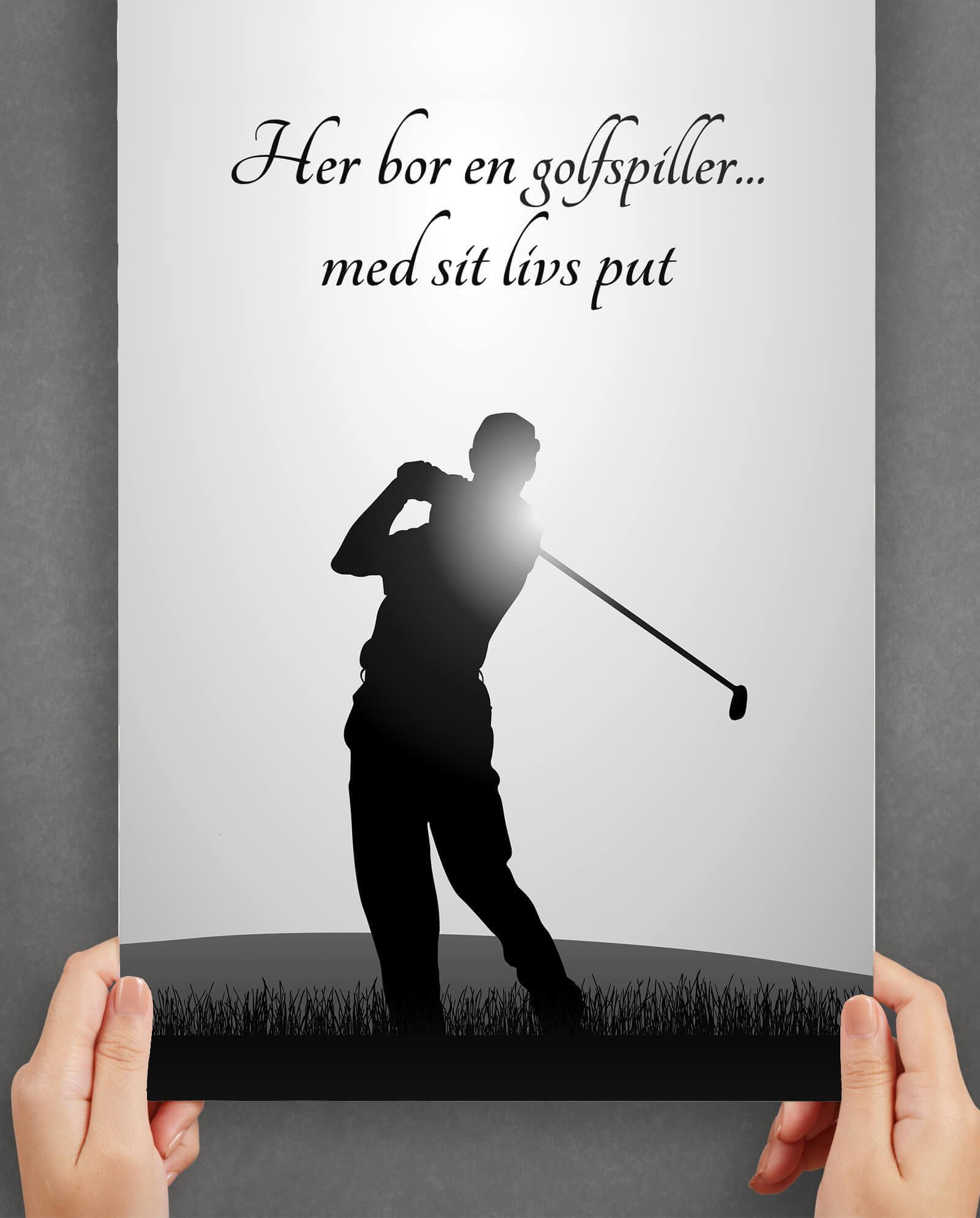 golfspiller-arbejde-plakat-1