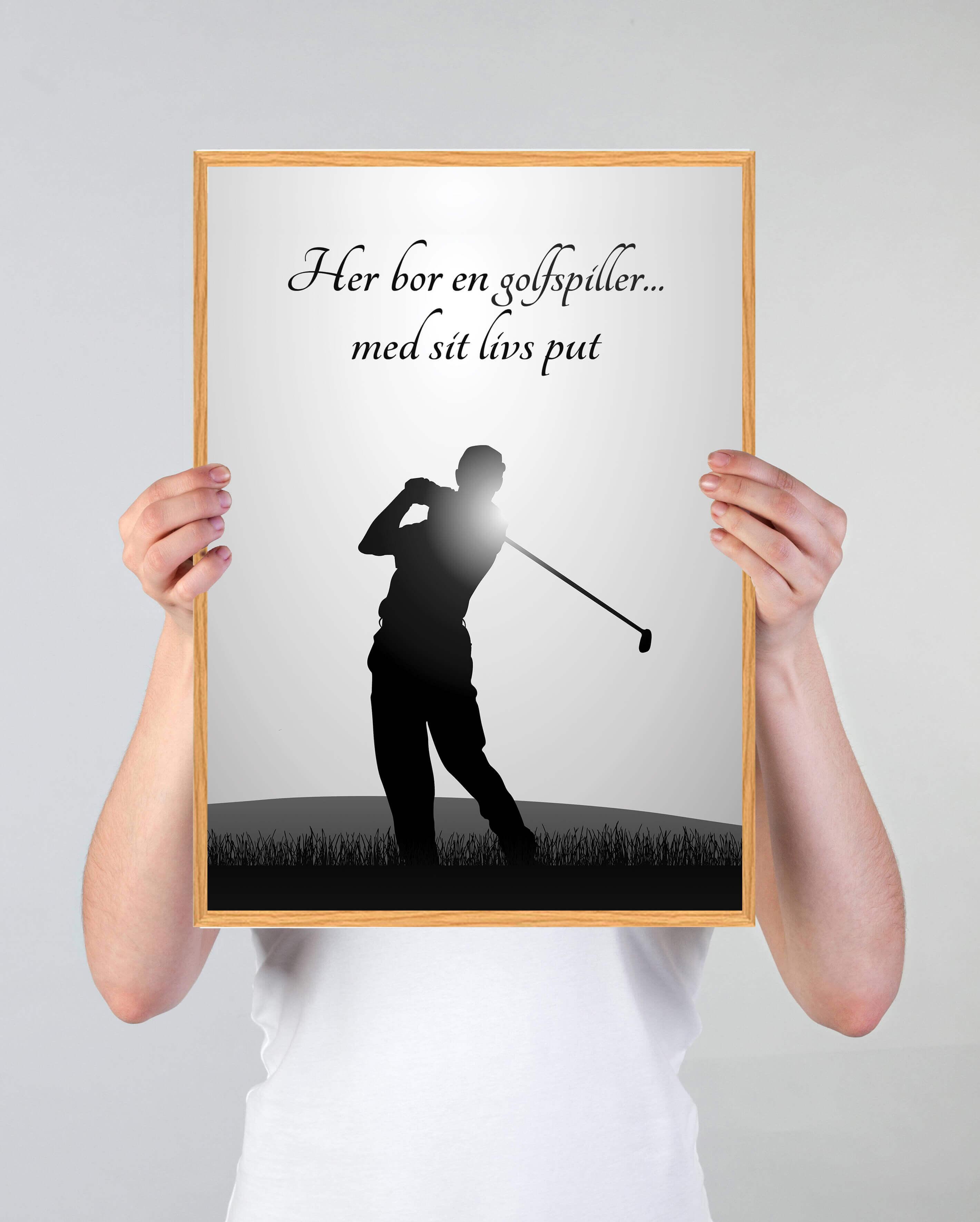 golfspiller-arbejde-plakat-3